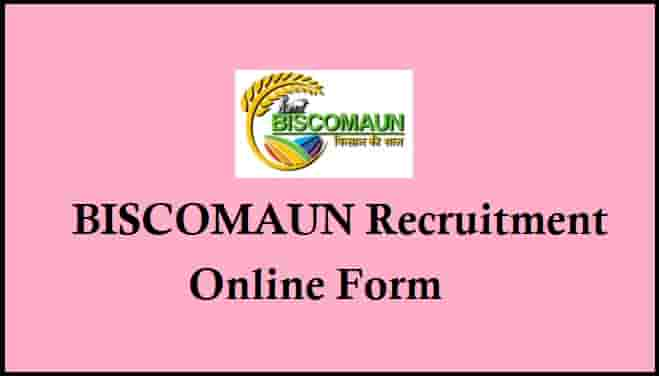 BISCOMAUN Recruitment