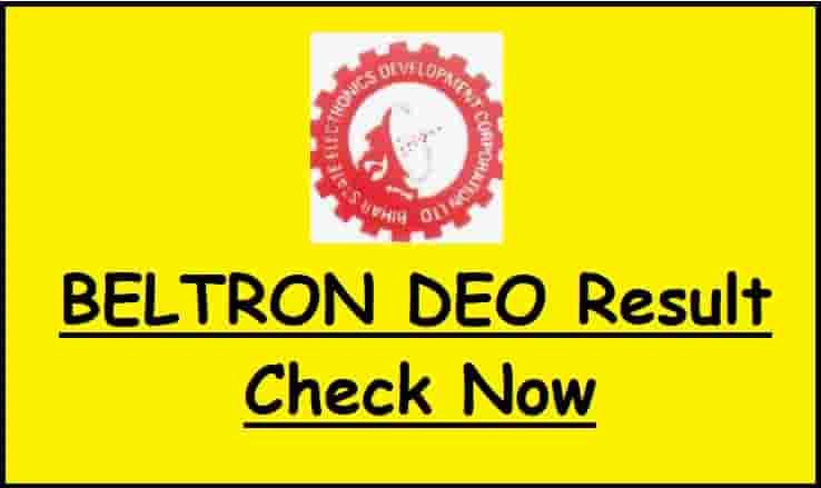 BELTRON DEO Result