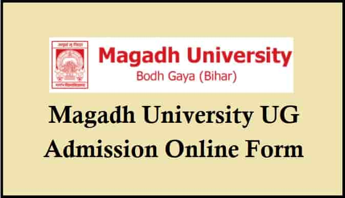 Magadh University Graduation Admission Online Form