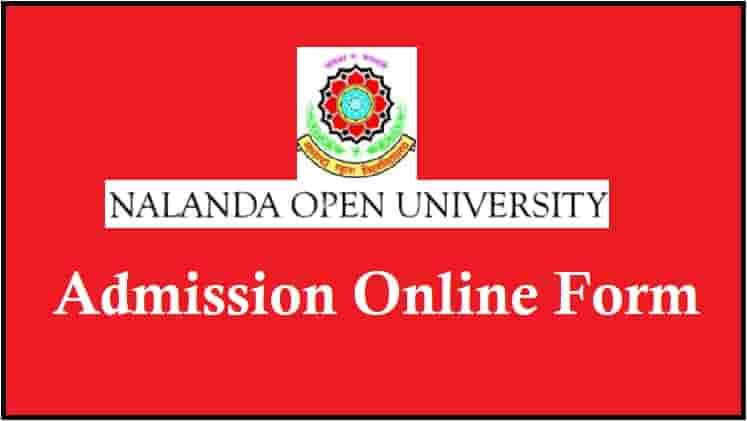 Nalanda Open University Admission Online Form