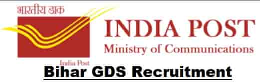 Bihar Postal Circle GDS Recruitment
