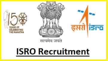 ISRO Scientist Engineer Recruitment