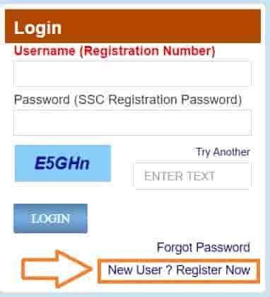 SSC CGL Online Registration Form