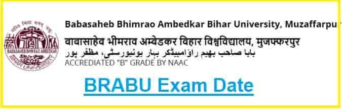 BRABU Exam Date Sheet