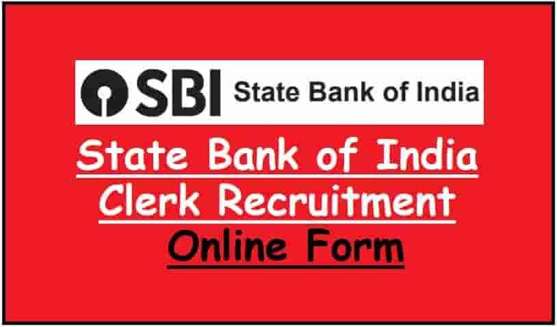 SBI Clerk Recruitment Online Form