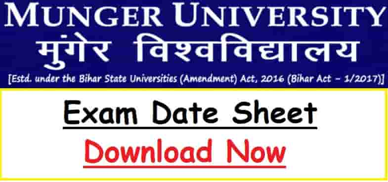 Munger University Exam Date