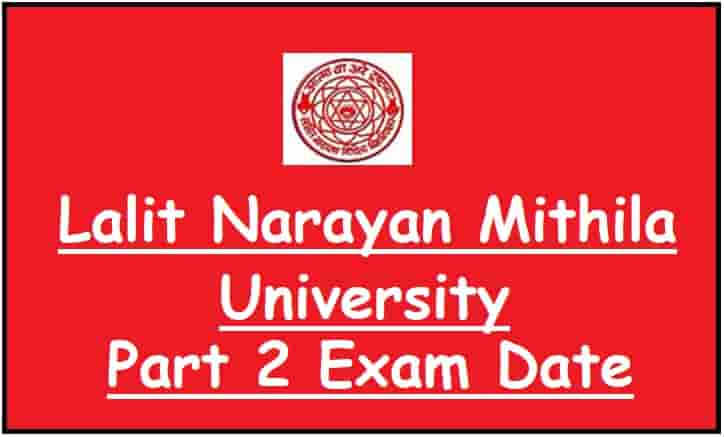 LNMU UG Part 2 Exam Date
