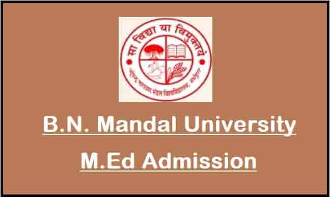 BNMU M.Ed Admission Online Form