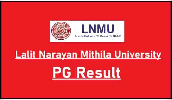 LNMU PG Result