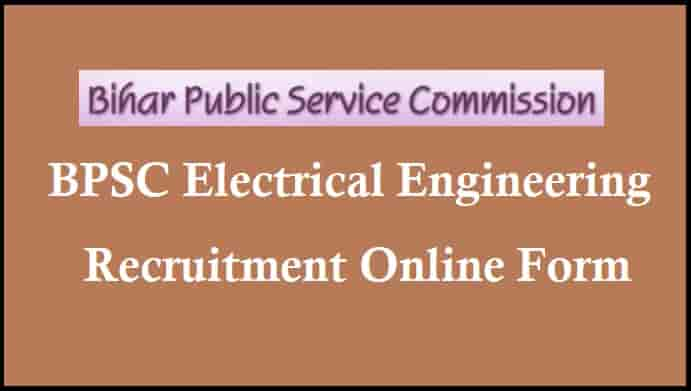 BPSC Electrical Engineering Recruitment