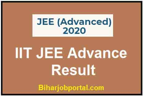 IIT JEE Advance Result