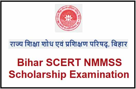 Bihar SCERT NMMSS Scholarship Examination