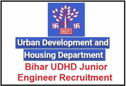 Bihar UDHD Junior Engineer Recruitment